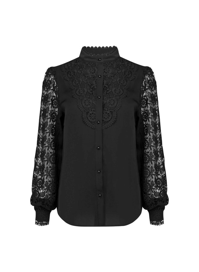Stella blouse - black