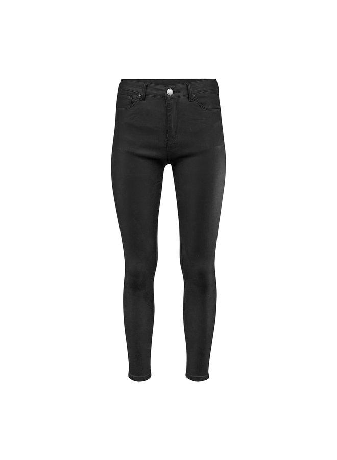 Annabel leatherlook pants - black