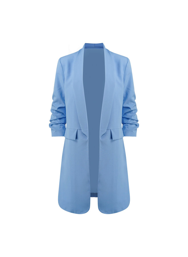 Kate blazer long -  blue