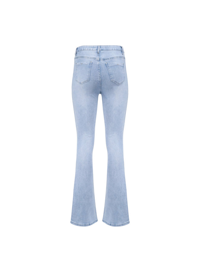 Aria flared jeans - light blue
