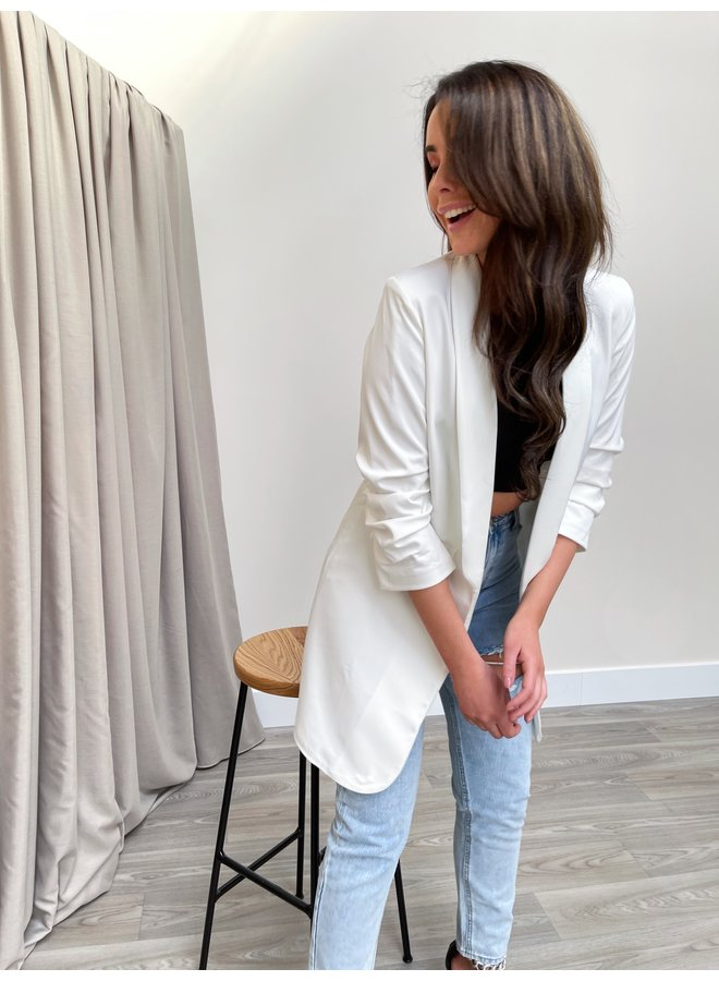 Kate blazer long -  white