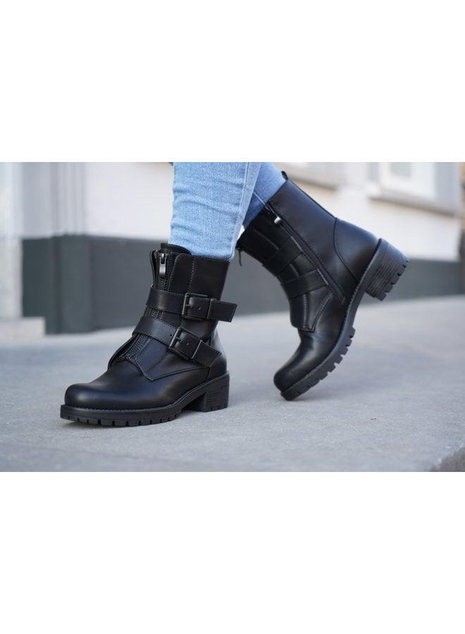 Lowie buckle boots - black