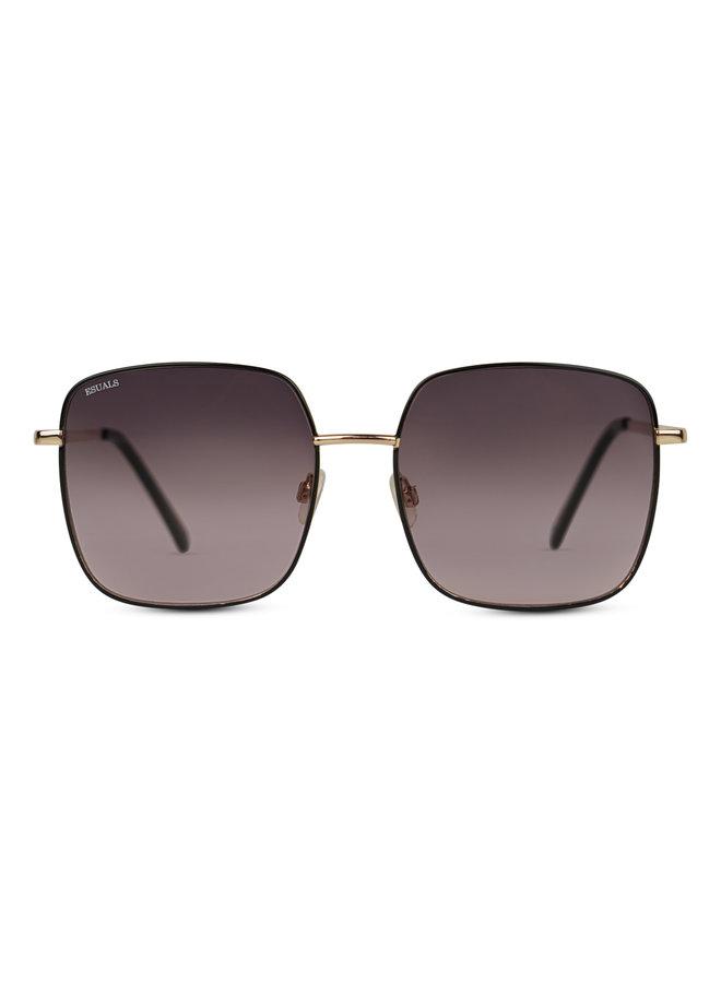 Sky zonnebril - black/gold