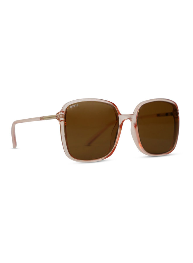 Chloë zonnebril - brown/pink