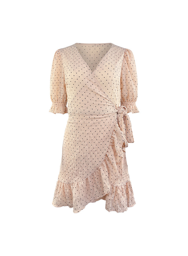 Lindsey dots dress - pink