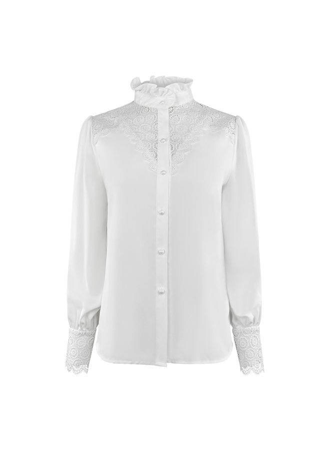 Nikki blouse - white