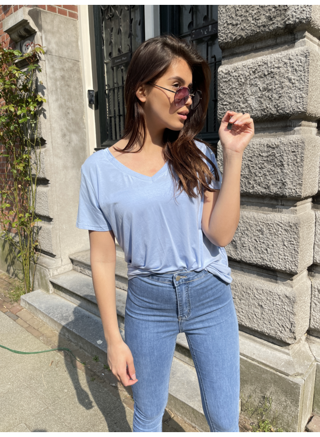 Leilany t-shirt - blue