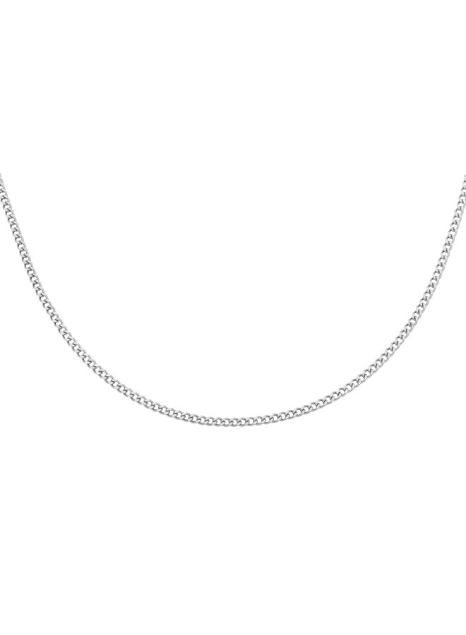Valerie chain necklace - silver
