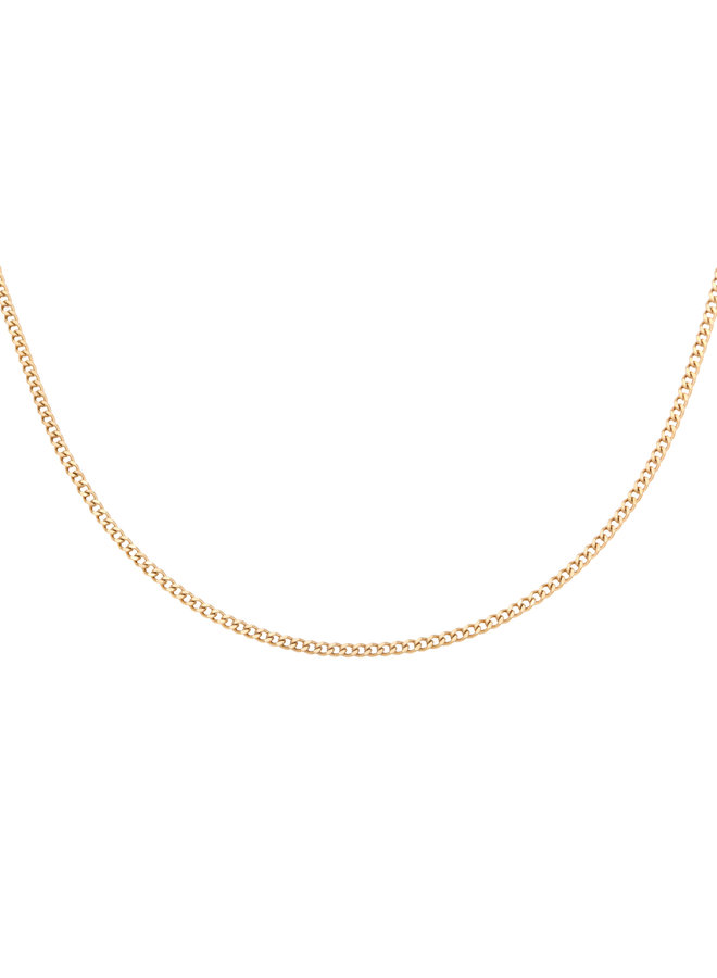 Valerie chain necklace - gold