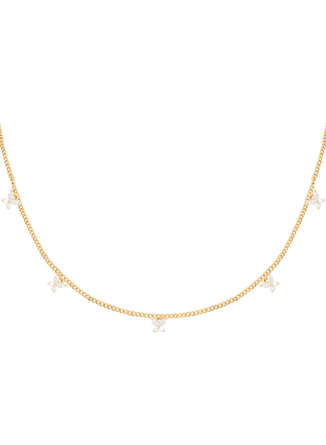 Isabelle butterfly necklace - Gold