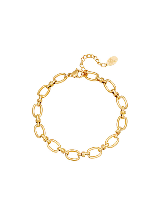 Liore entwined bracelet - Gold