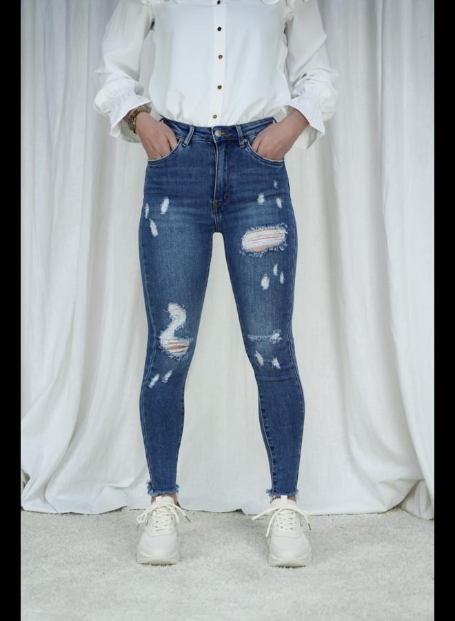 Esmée skinny jeans - dark blue