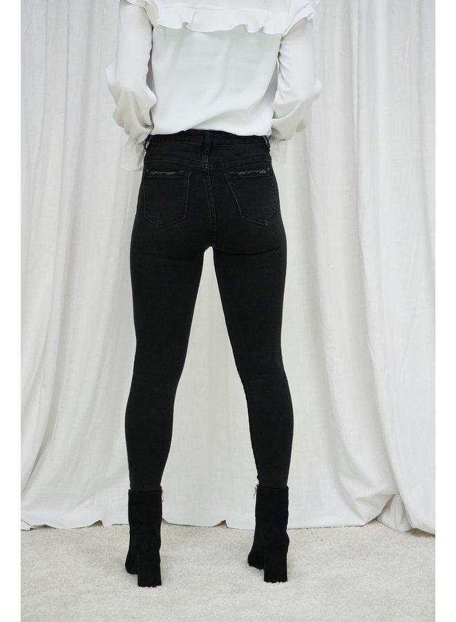 Robey skinny jeans - black