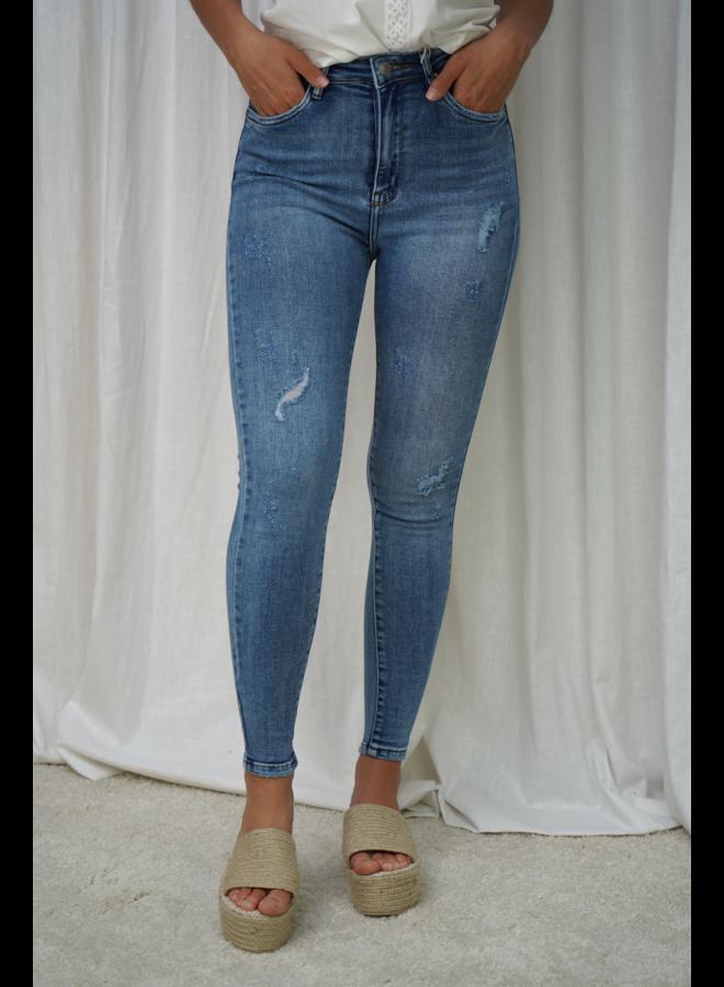 Eefke skinny jeans - blue