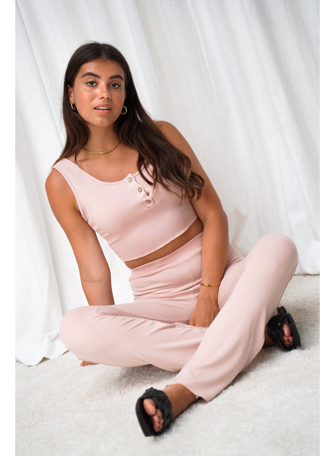 Eve two piece set - pink