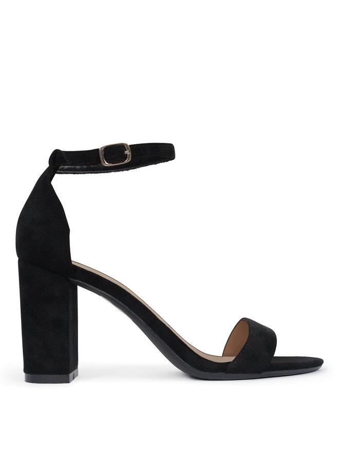 Journey heels - black/suede