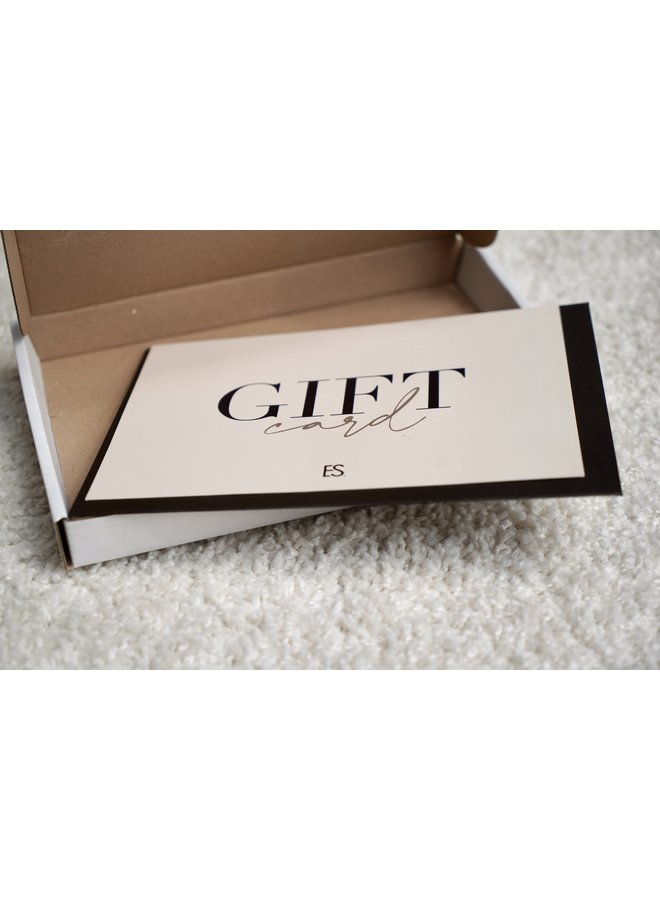 Esuals giftcard