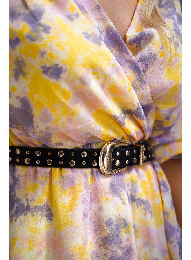 Dominique belt - gold