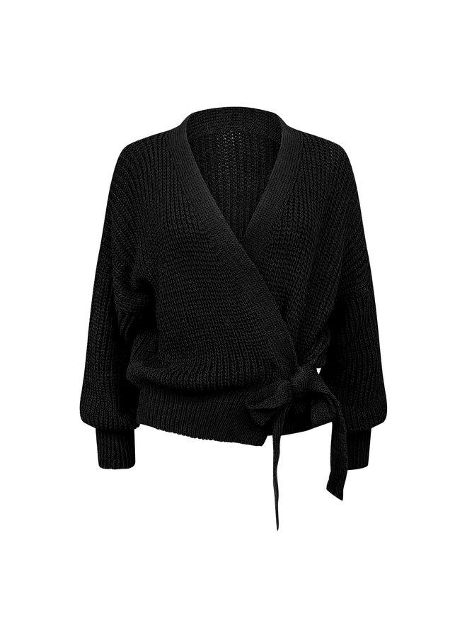 Liv cardigan - black