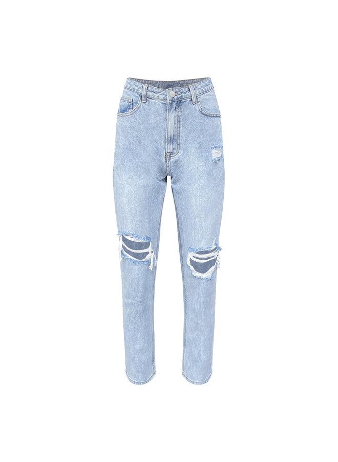 Isa mom jeans - licht blauw