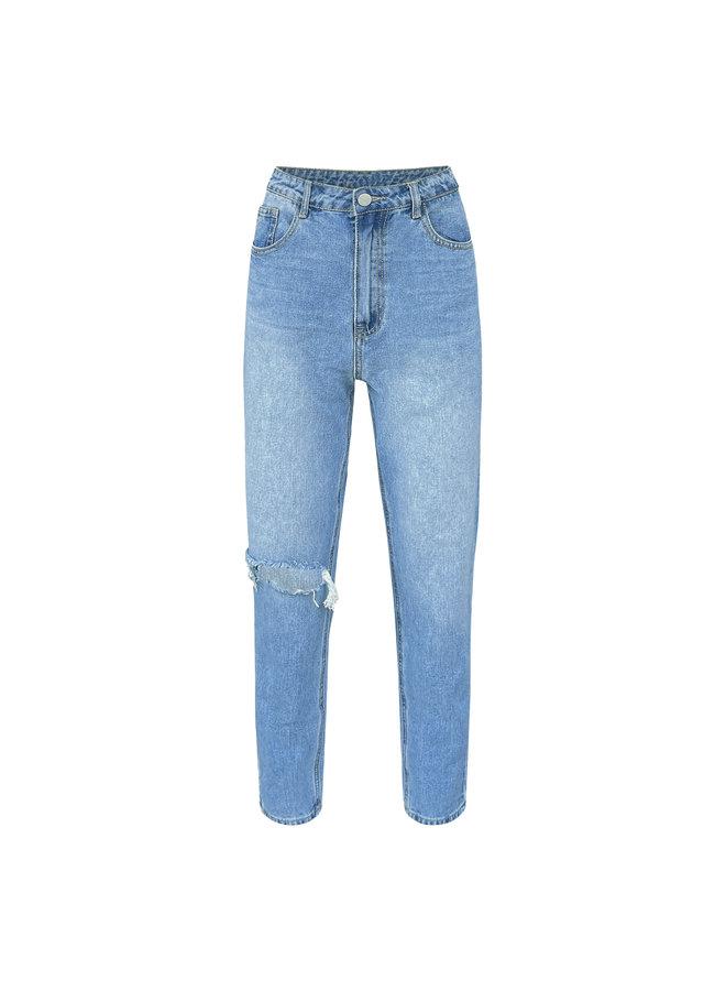 Leva mom jeans - blauw