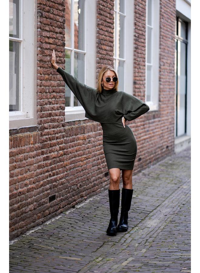 Britt boots long- black
