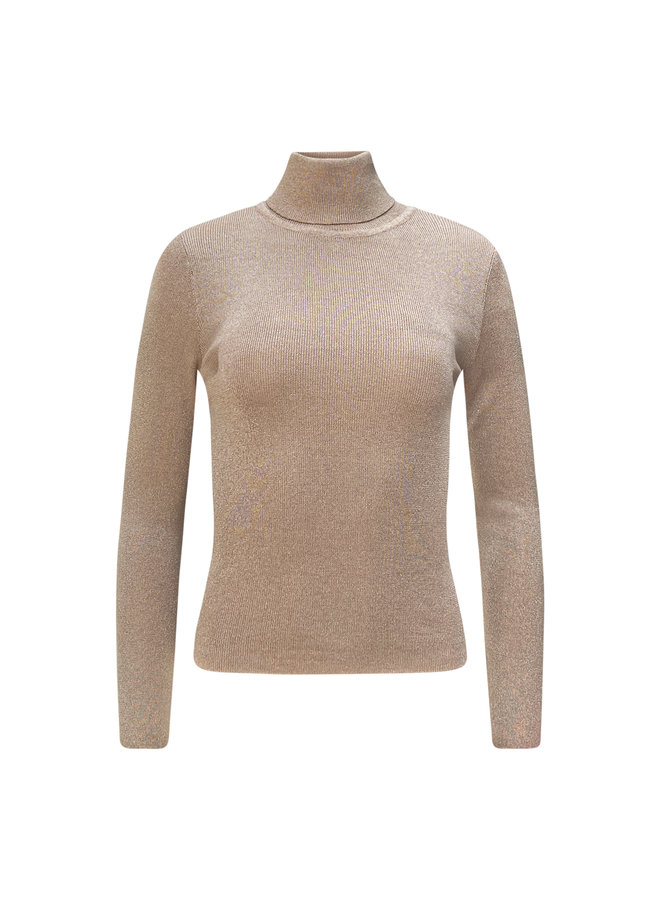 Roos glitter col - camel
