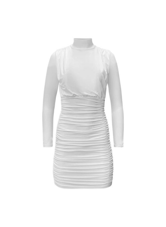 Mette jurk- wit