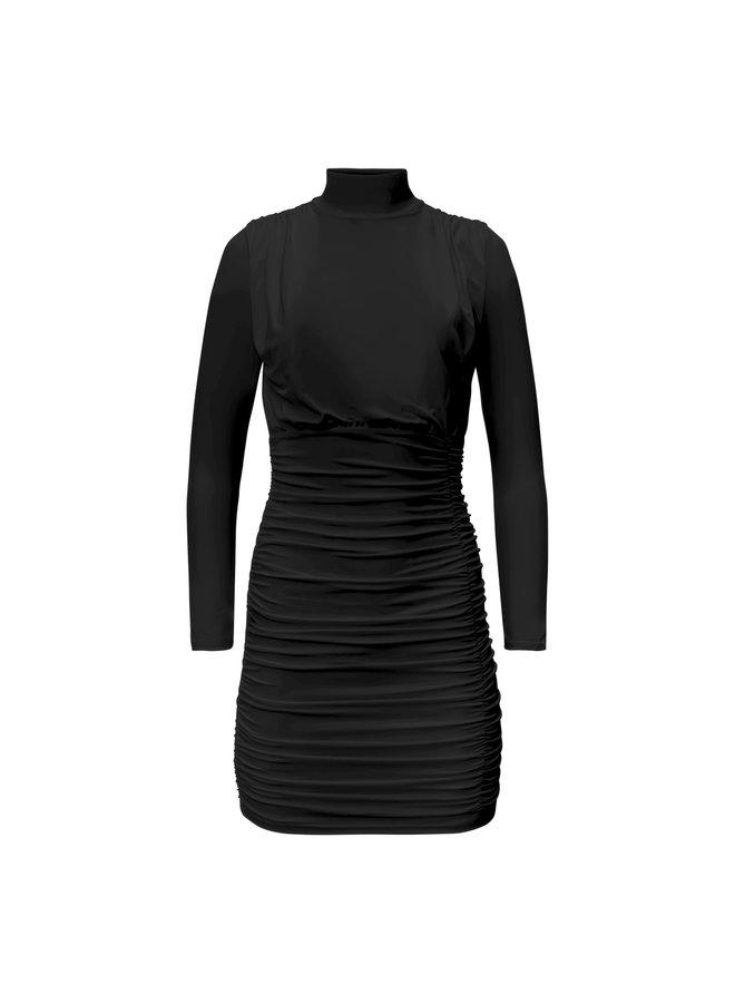 Mette jurk- zwart