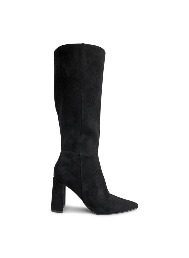 Chila suede heels - zwart