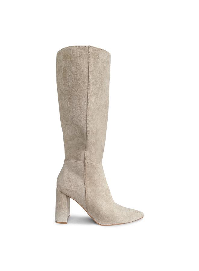 Chila suede heels - beige