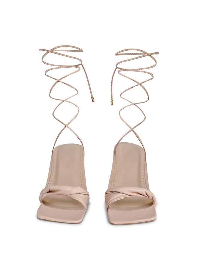 Bo strik heels - beige