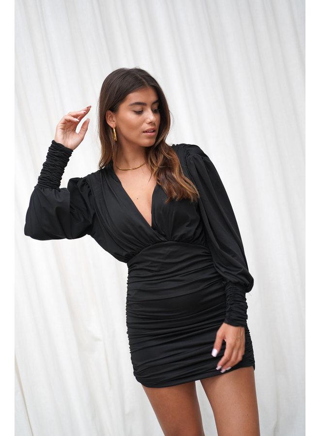 Lucy jurk - zwart