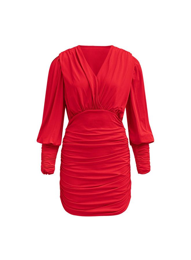 Lucy jurk - rood