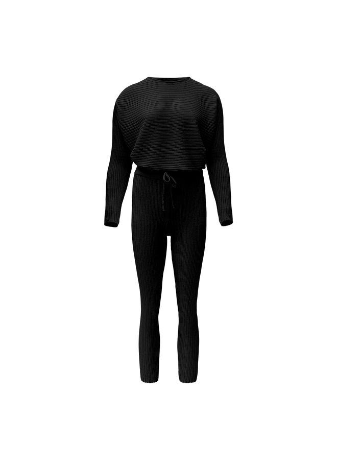 Madelein comfy set - zwart