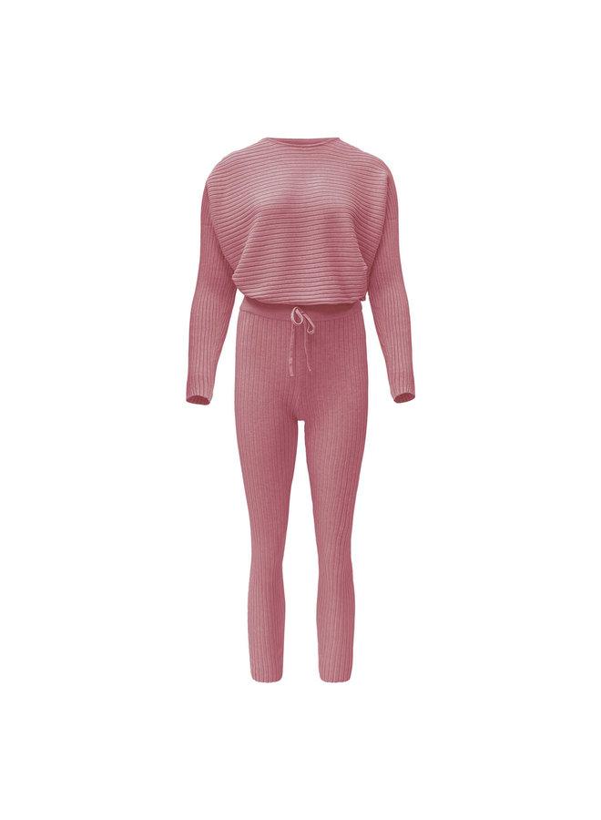 Madelein comfy set - roze