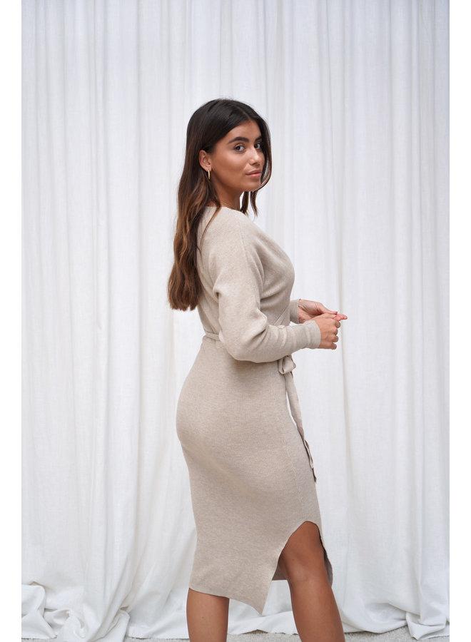 Donna jurk - beige
