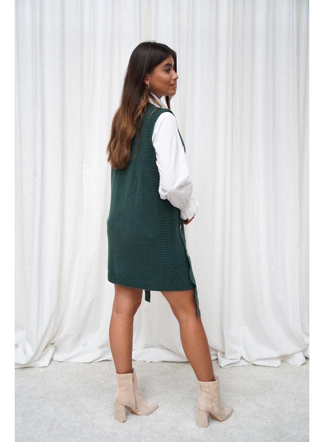 Anne spencer jurk - groen