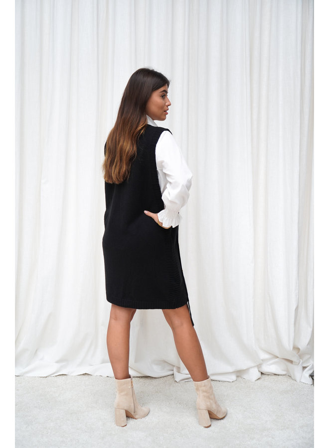 Anne spencer jurk - zwart