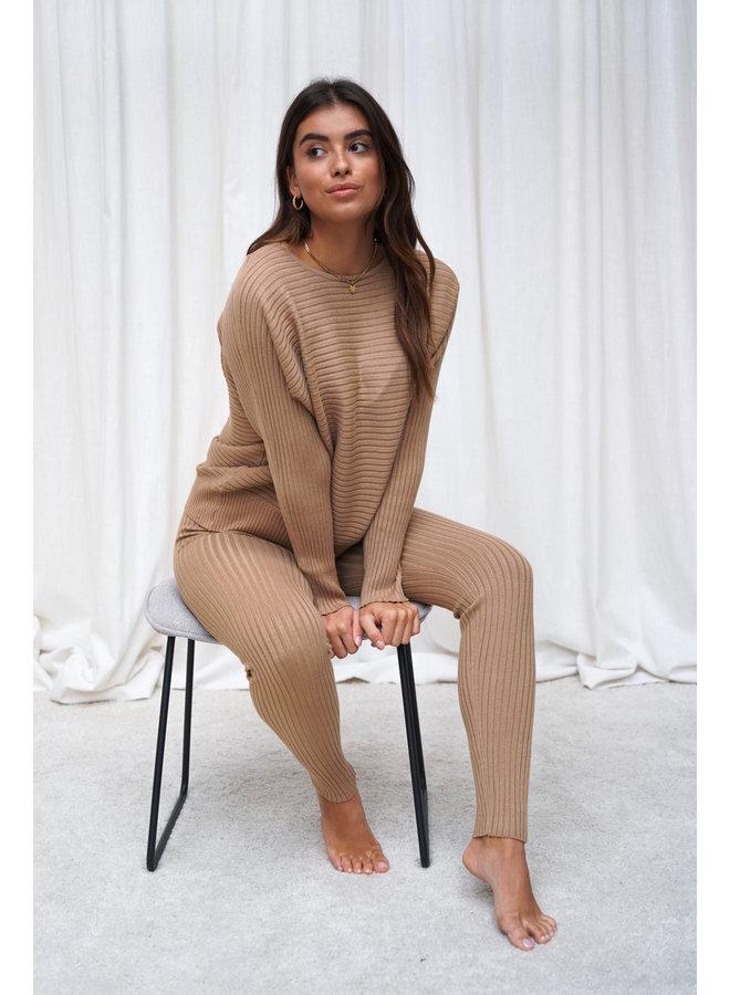 Madelein comfy set - camel