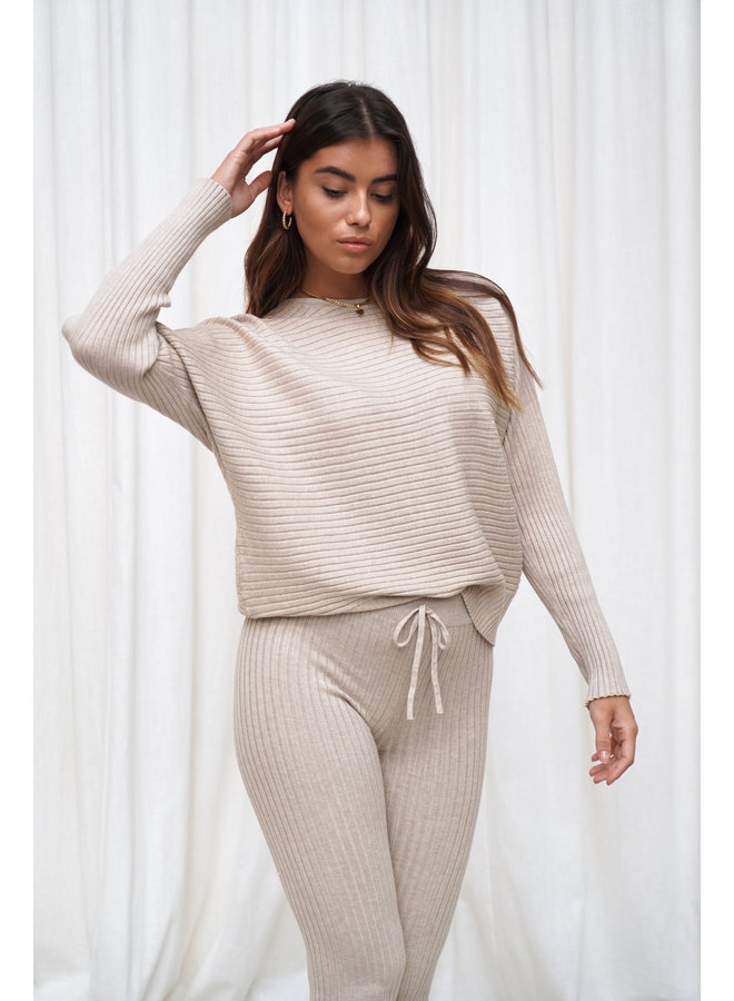 Madelein comfy set - beige