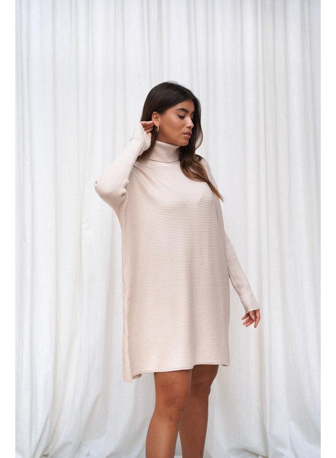 Faya coltrui jurk - beige