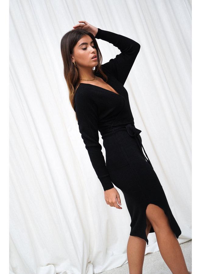 Donna jurk - zwart