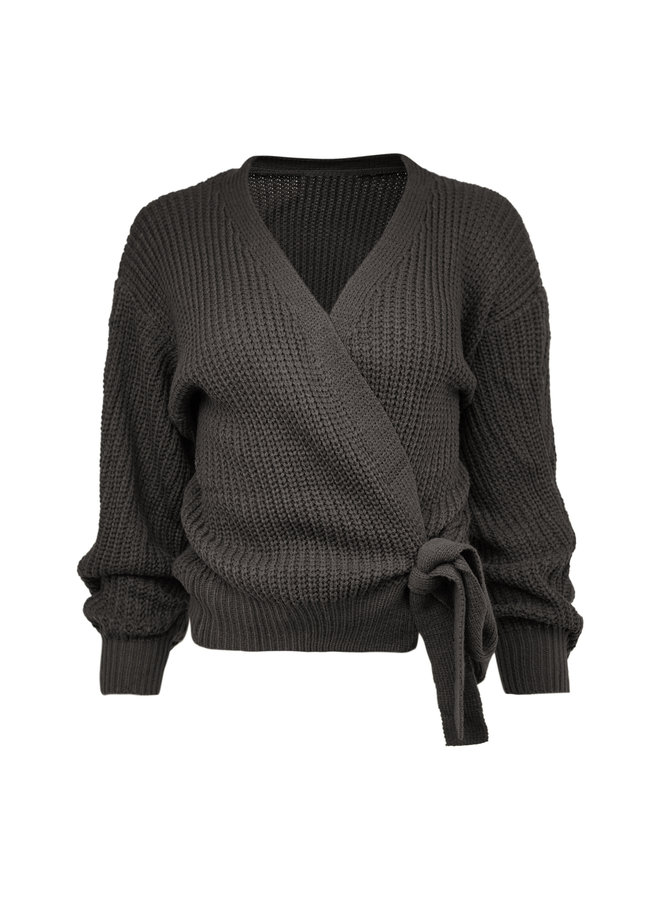 Liv cardigan - dark grey