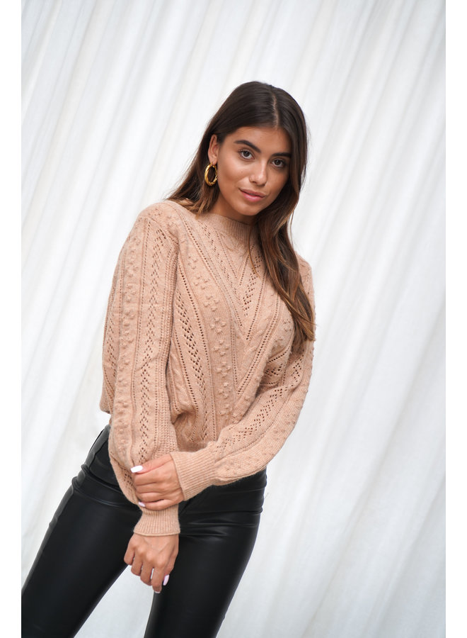 Laurie knit - camel
