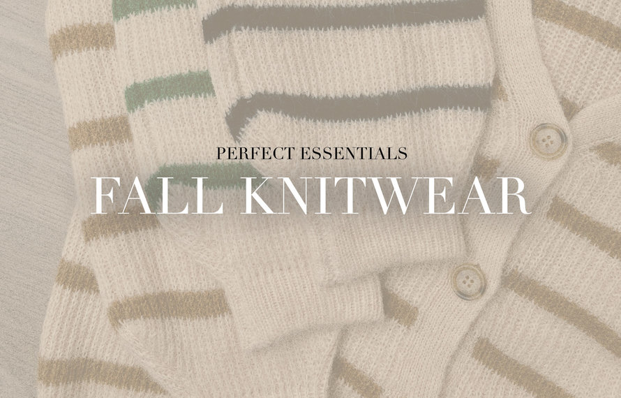 Knitwear: comfy sets tot oversized sweaters