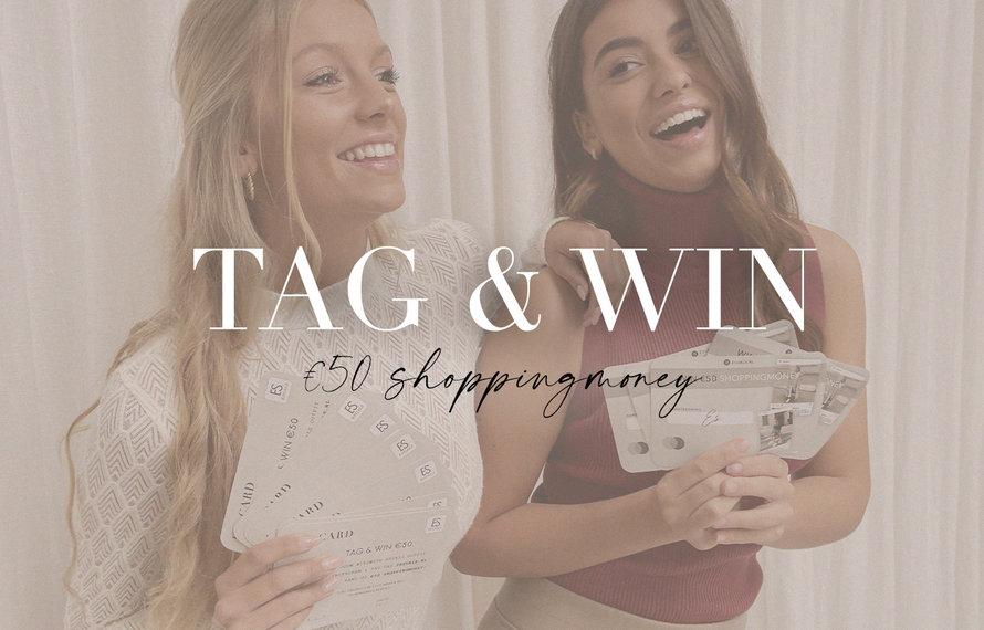 Tag @esuals.nl & Win €50 shoppingmoney