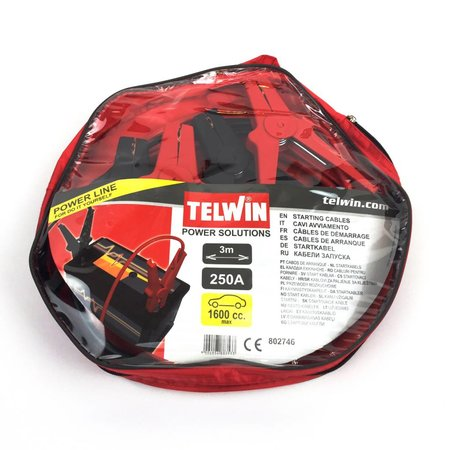 Telwin Booster Cable 3M Power Line - startkabels 250A