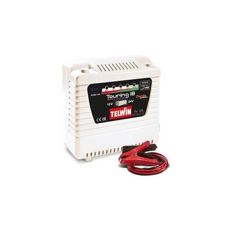 Telwin acculader Touring 18 Tronic 230V 12V / 24V laden en onderhouden