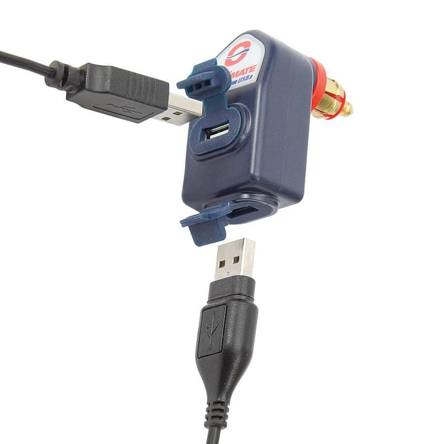 Spiksplinternieuw Intelligente weerbestendige USB-lader van 3.300 mA, met MOTOR (DIN LE-64
